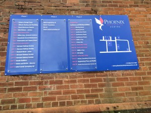 Phoenix Court Phase 1, 2 & 3 sign