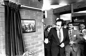 Then MP Jack Cunningham opened Cleator Moor Workspace back in May 1985 . pic Whitehaven News 80300.jpg50079689W000.jpg